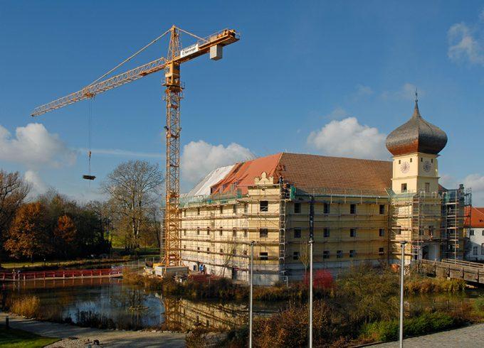 Umbau und Sanierung Schloss Hohenkammer