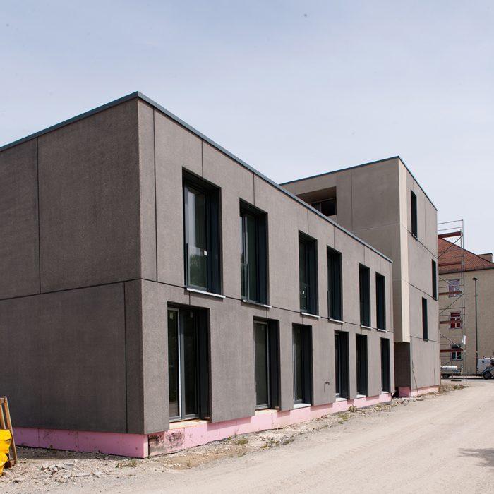 Bauvorhaben Studentenwohnanlage Landshut