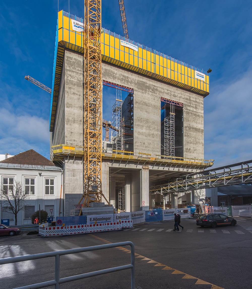 BMW Werk Hochregallager Muenchen schluesselfertig