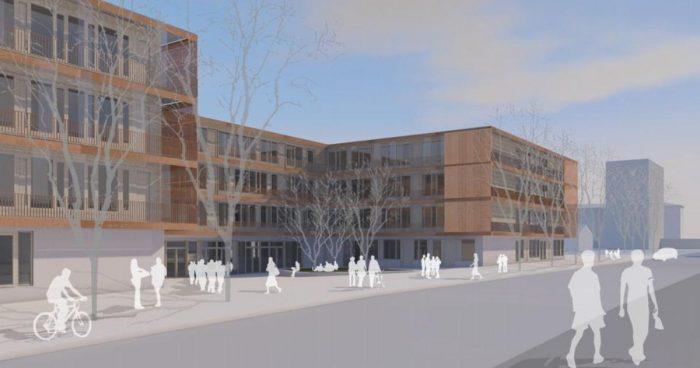 Neubau Realschule & Haus für Kinder, Aschauer Straße, Ramersdorf-Perlach
