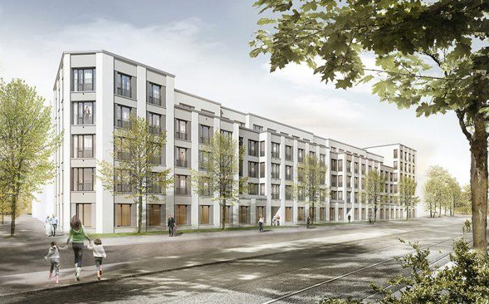 GEWOFAG, München, Prinz-Eugen-Park, WA 7 und 11