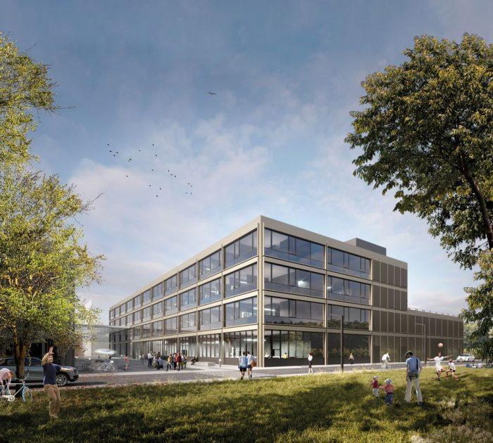 TUM, Neubau Fakultät für Elektro- und Informationstechnik in Garching